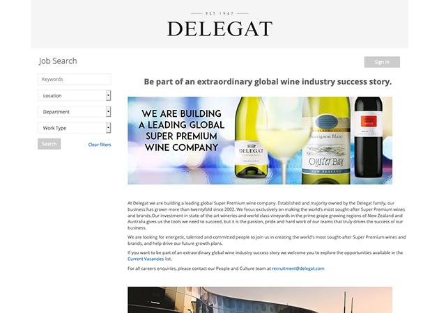 Delegat Careers | StaffCV ATS