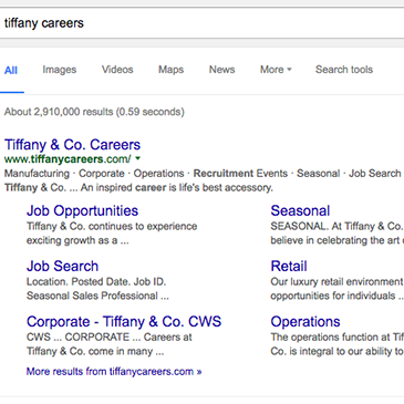 Careers Website SEO