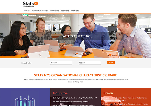 Stats NZ Careers | StaffCV CWS