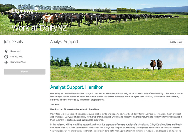 StaffCV ATS | Dairy NZ