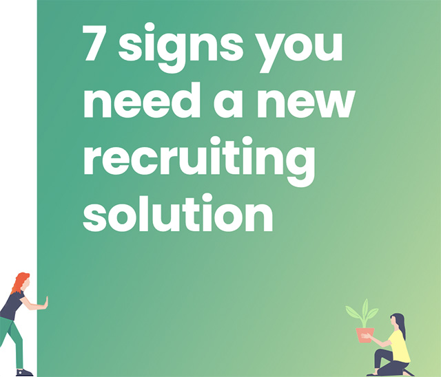 7 signs you need a new recruiting solution | StaffCV